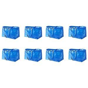 8 Pack IKEA Frakta 19 Gallon Tote PRICE FIRM